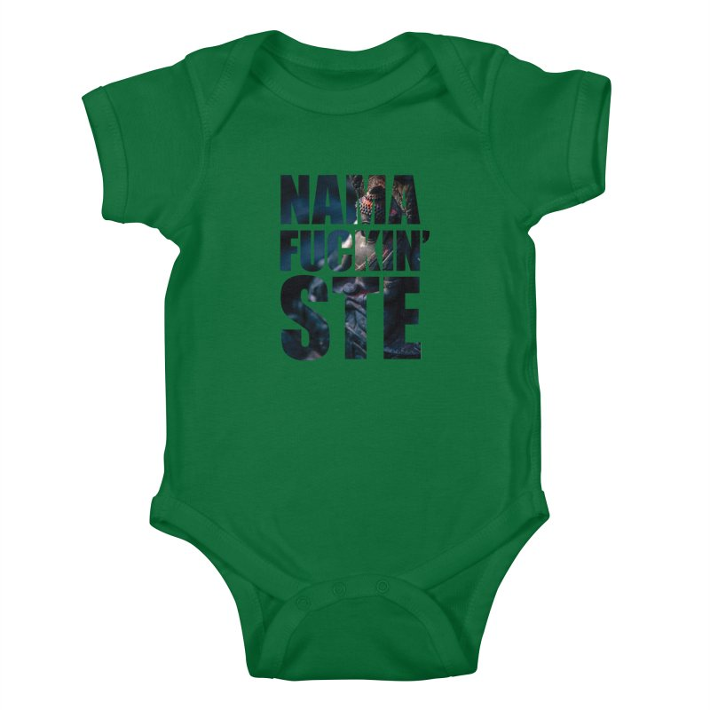 NAMAFUCKINSTE Kids Baby Bodysuit by litoq's Artist Shop