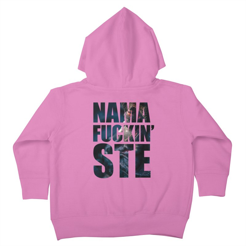 NAMAFUCKINSTE Kids Toddler Zip-Up Hoody by litoq's Artist Shop