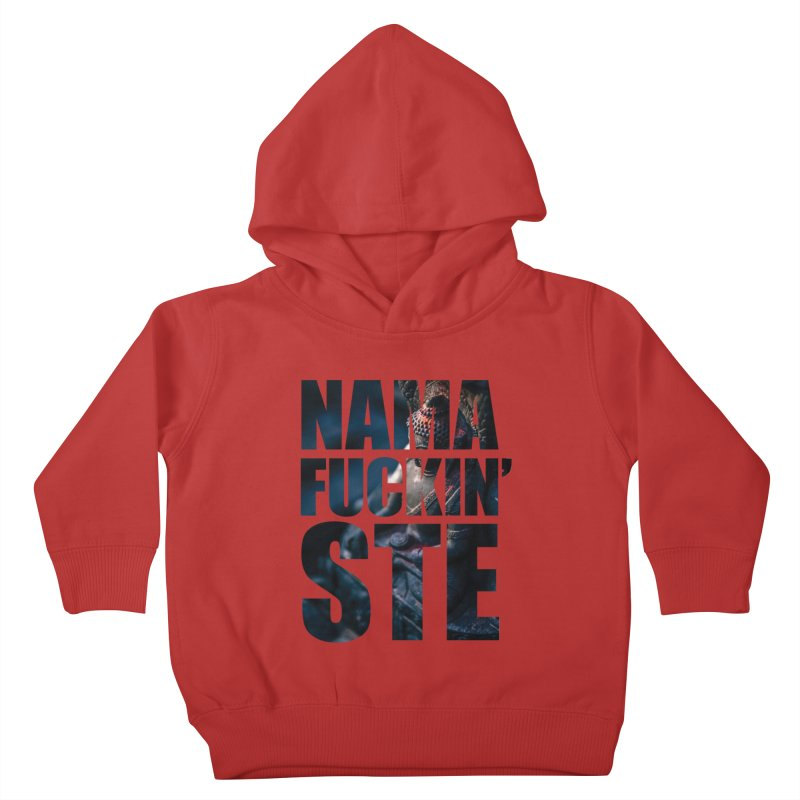 NAMAFUCKINSTE Kids Toddler Pullover Hoody by litoq's Artist Shop