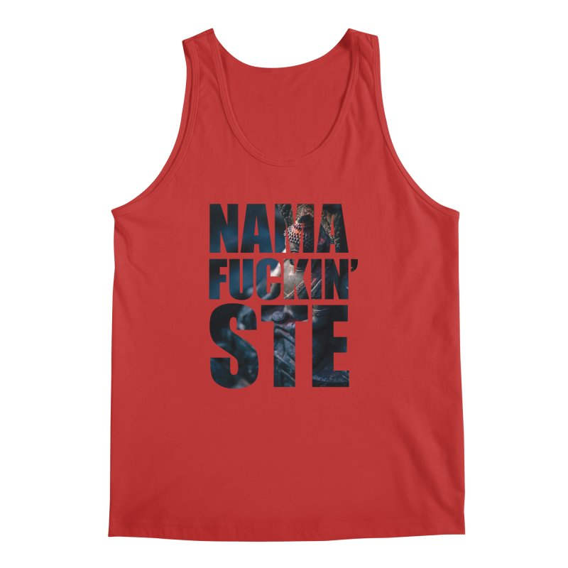 NAMAFUCKINSTE Men's Regular Tank by litoq's Artist Shop