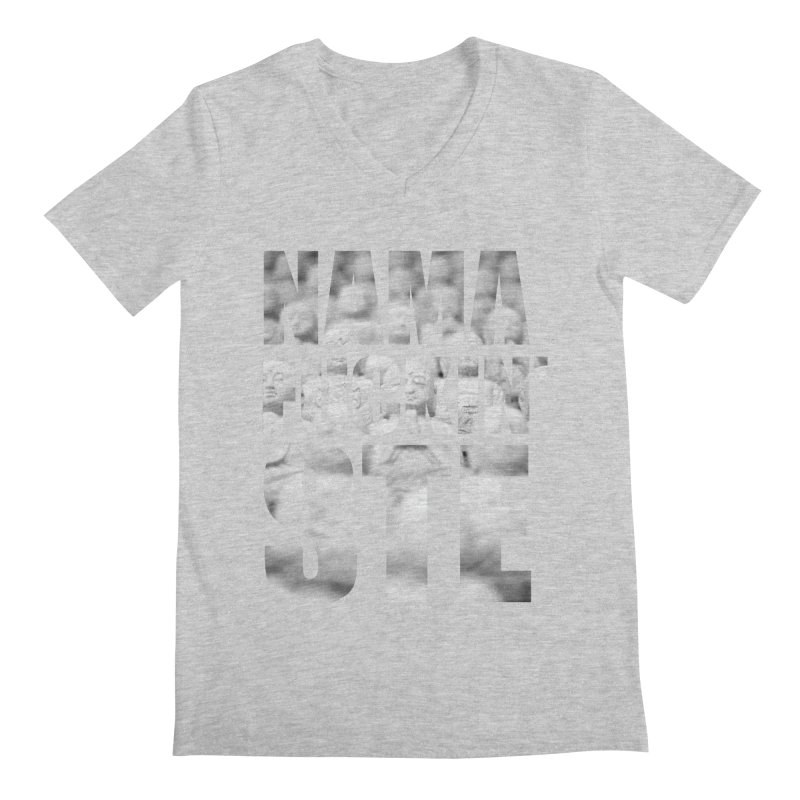 NAMAFUCKIN'STE II Men's V-Neck by litoq's Artist Shop
