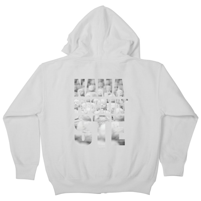 NAMAFUCKIN'STE II Kids Zip-Up Hoody by litoq's Artist Shop