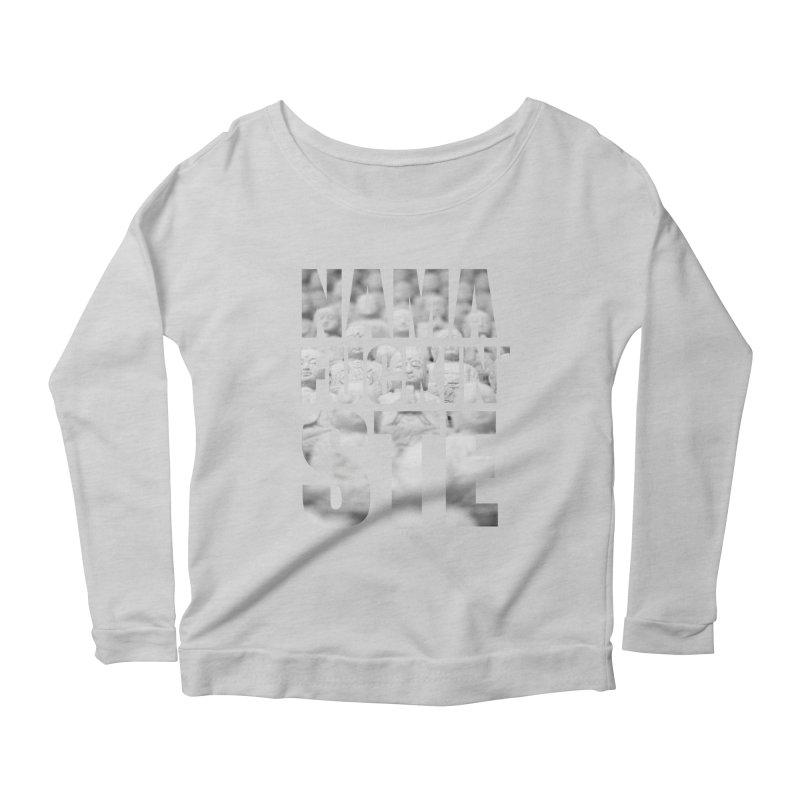 NAMAFUCKIN'STE II Women's Scoop Neck Longsleeve T-Shirt by litoq's Artist Shop