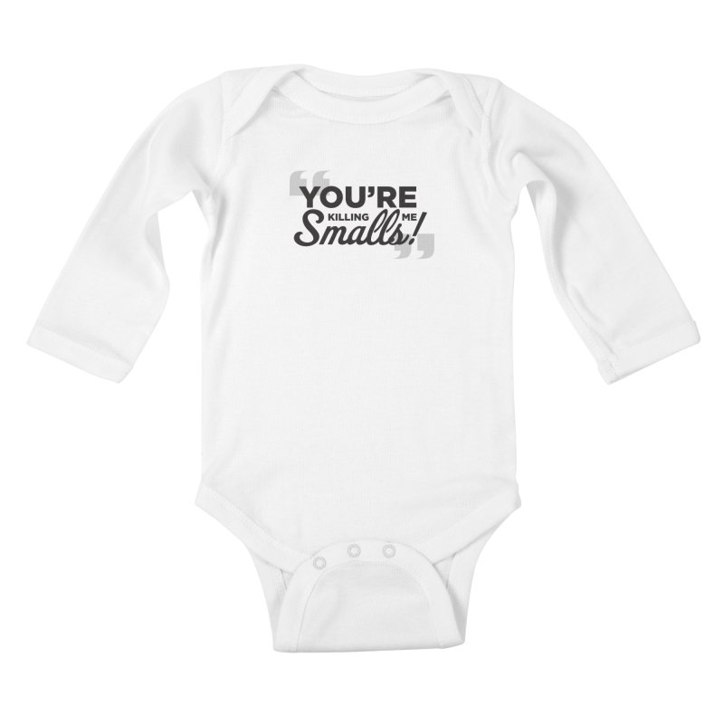 You're Killing Me! Kids Baby Longsleeve Bodysuit by litoq's Artist Shop