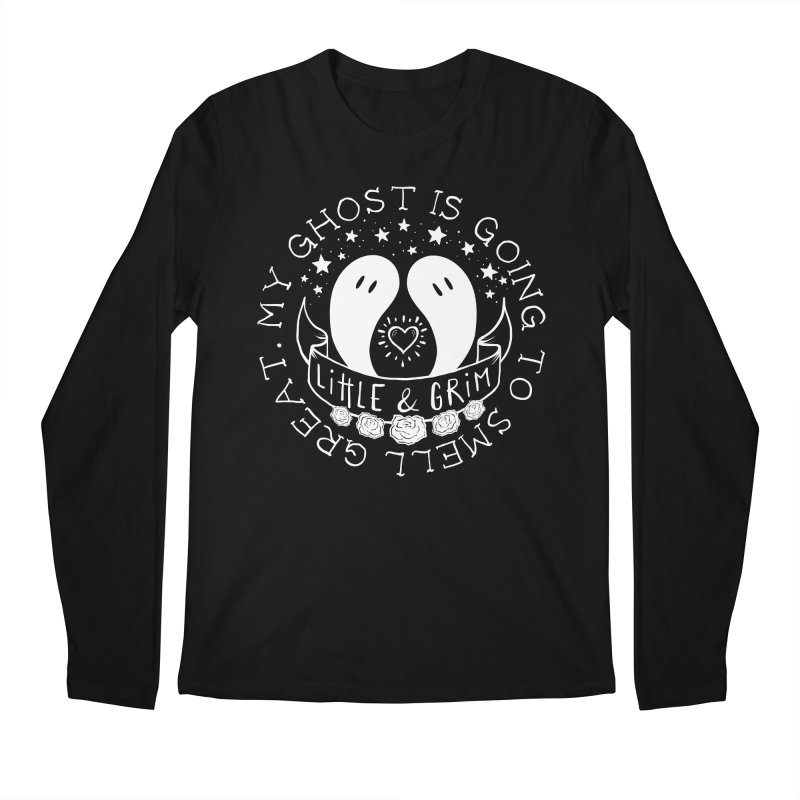 My Ghost Is Going To Smell Great Men's Regular Longsleeve T-Shirt by LITTLE   &   GRIM