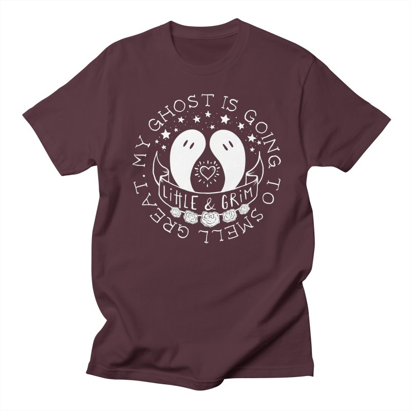 My Ghost Is Going To Smell Great Men's Regular T-Shirt by LITTLE   &   GRIM