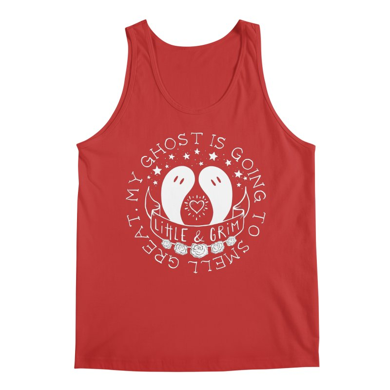My Ghost Is Going To Smell Great Men's Regular Tank by LITTLE   &   GRIM