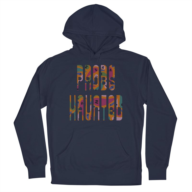 Probs Haunted Men's Pullover Hoody by LITTLE   &   GRIM