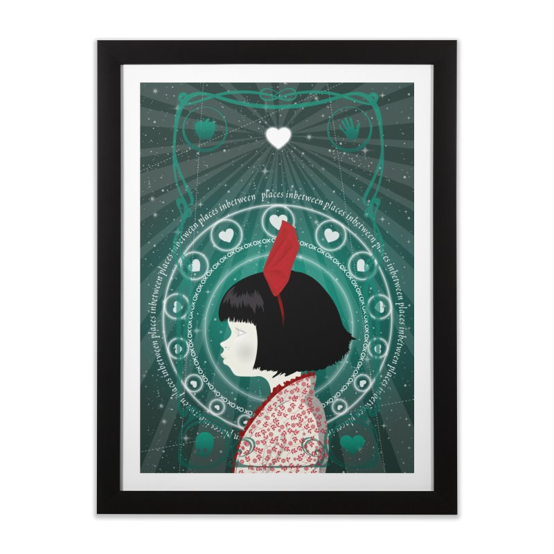 Gratia Home Framed Fine Art Print by littleappledolls's Artist Shop