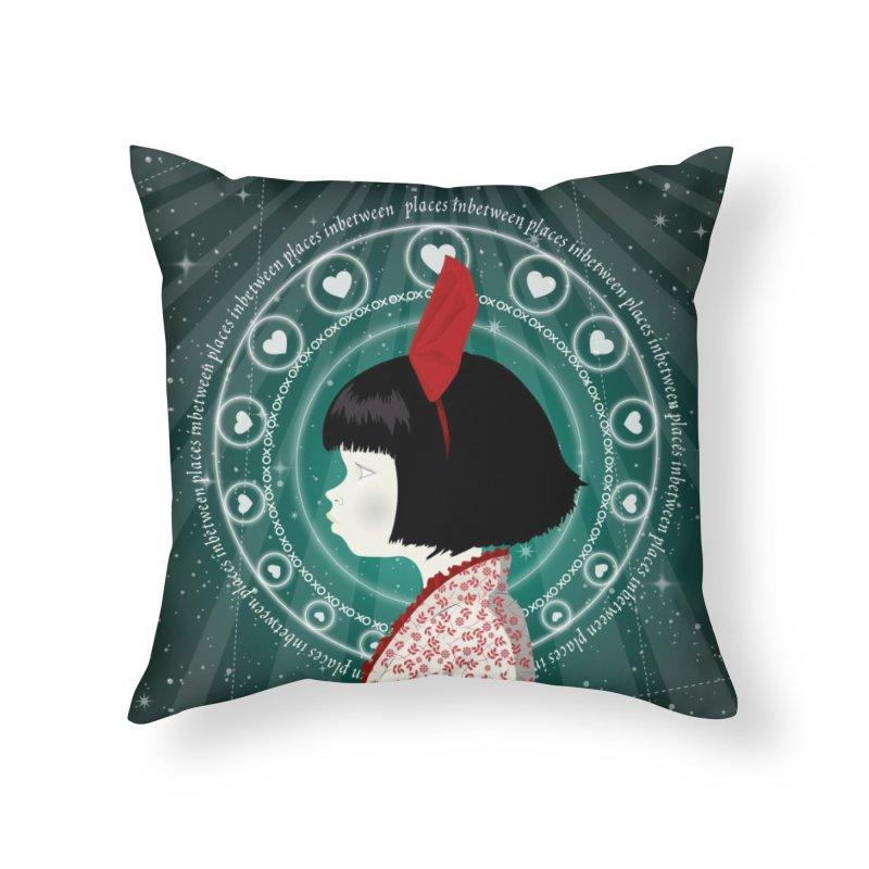 Gratia Home Throw Pillow by littleappledolls's Artist Shop