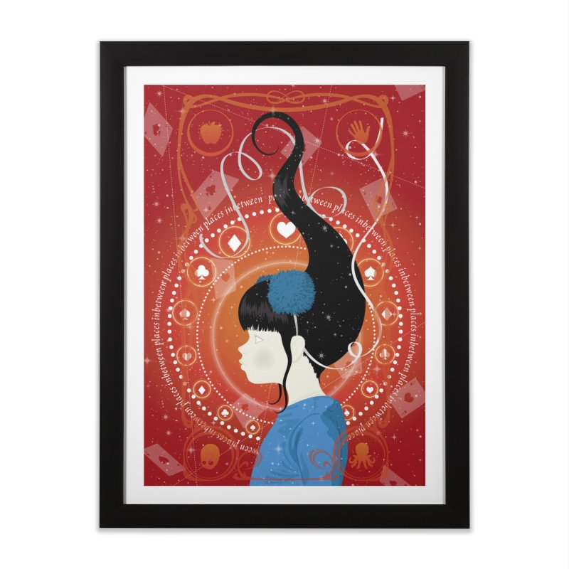 Mirari Home Framed Fine Art Print by littleappledolls's Artist Shop