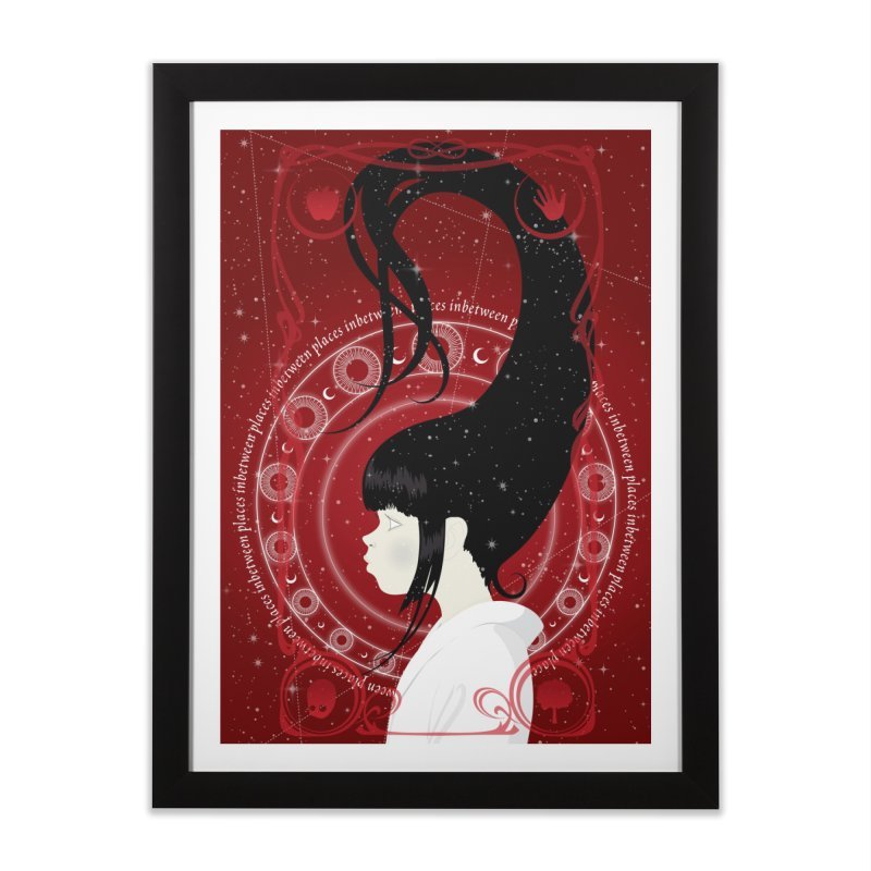 Sine  Home Framed Fine Art Print by littleappledolls's Artist Shop