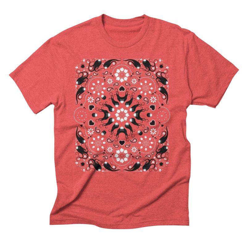 Dolls and Daisies Paisley/Multi Men's Triblend T-Shirt by littleappledolls's Artist Shop