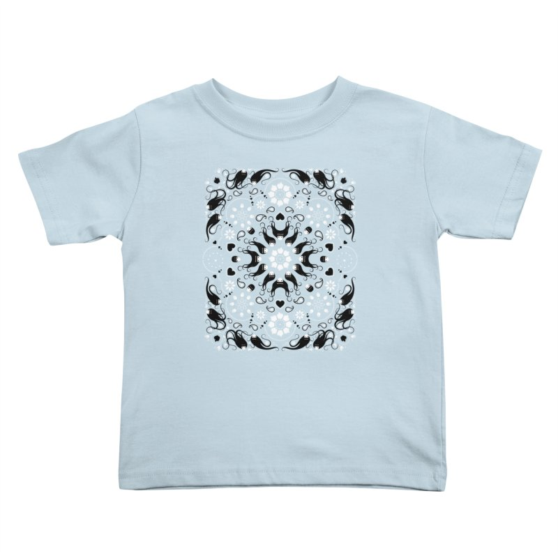 Dolls and Daisies Paisley/Multi Kids Toddler T-Shirt by littleappledolls's Artist Shop