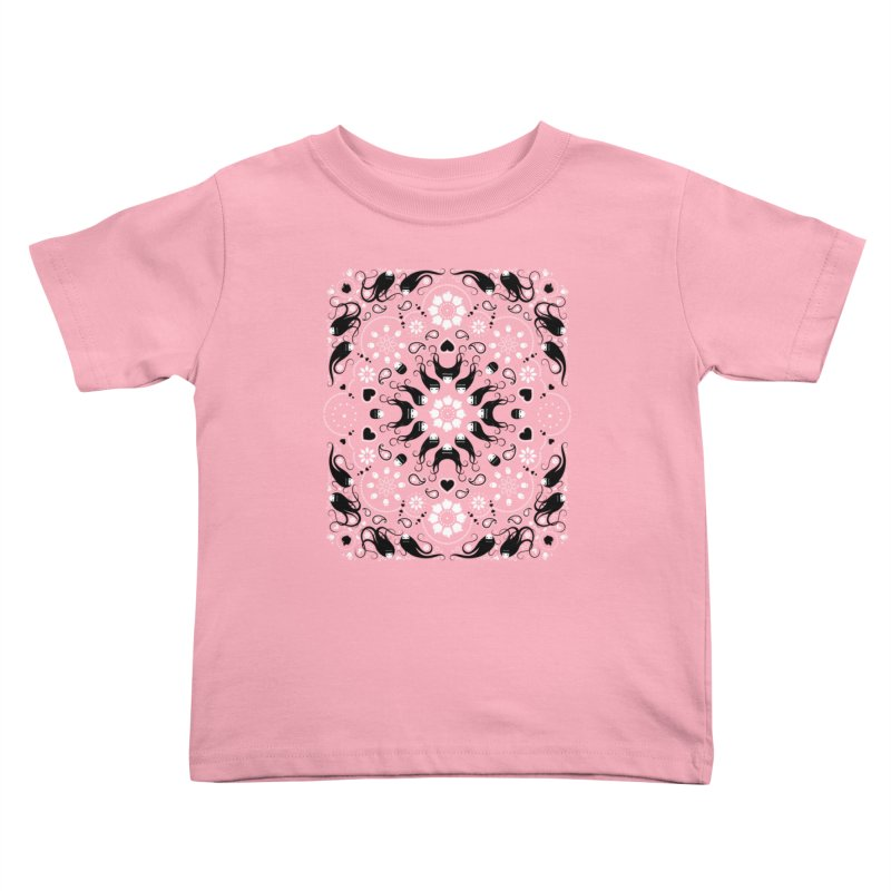 Dolls and Daisies Paisley/Multi Kids Toddler T-Shirt by littleappledolls's Artist Shop
