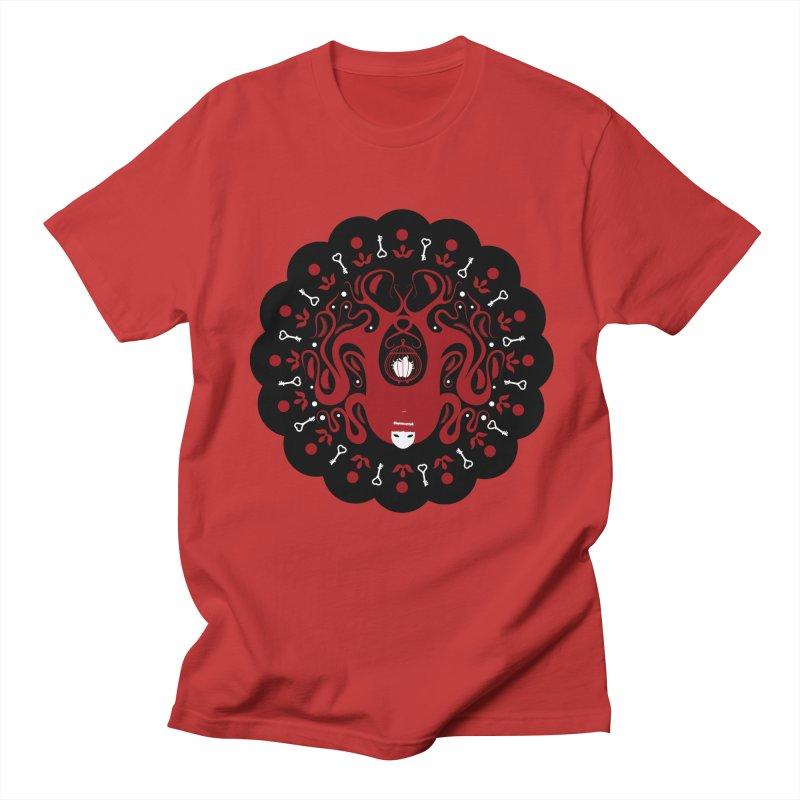 Cages and Keys/Black Men's Regular T-Shirt by littleappledolls's Artist Shop