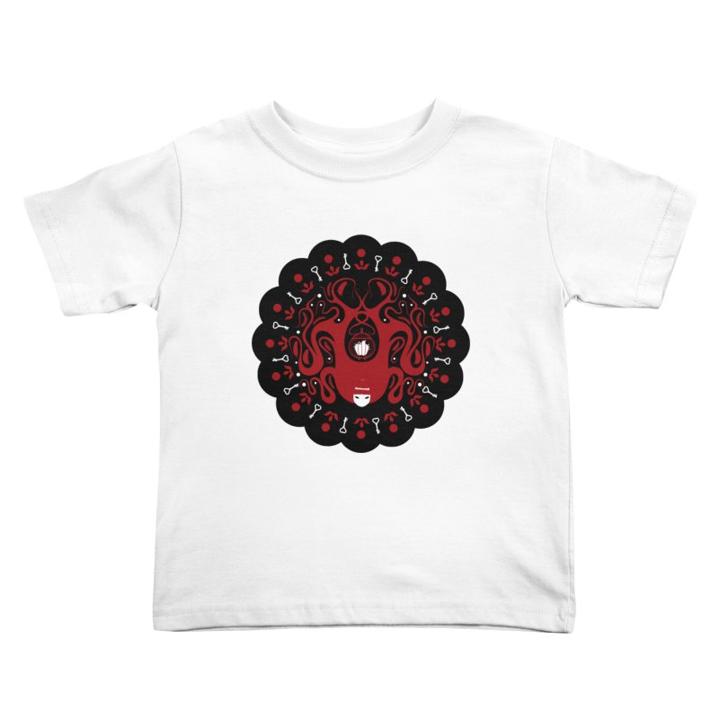 Cages and Keys/Black Kids Toddler T-Shirt by littleappledolls's Artist Shop