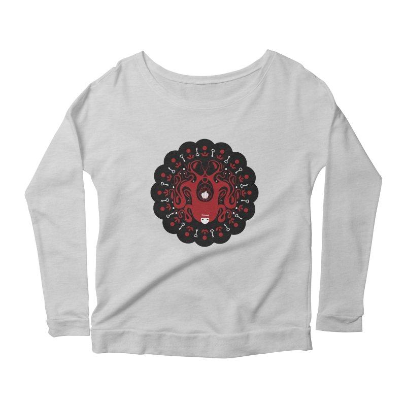 Cages and Keys/Black Women's Scoop Neck Longsleeve T-Shirt by littleappledolls's Artist Shop