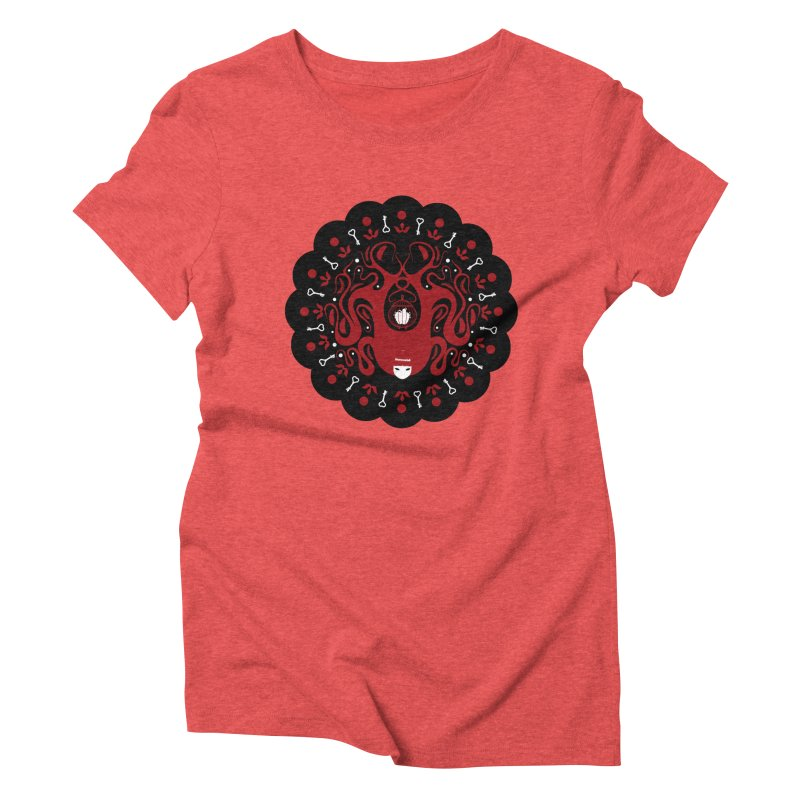 Cages and Keys/Black Women's Triblend T-Shirt by littleappledolls's Artist Shop