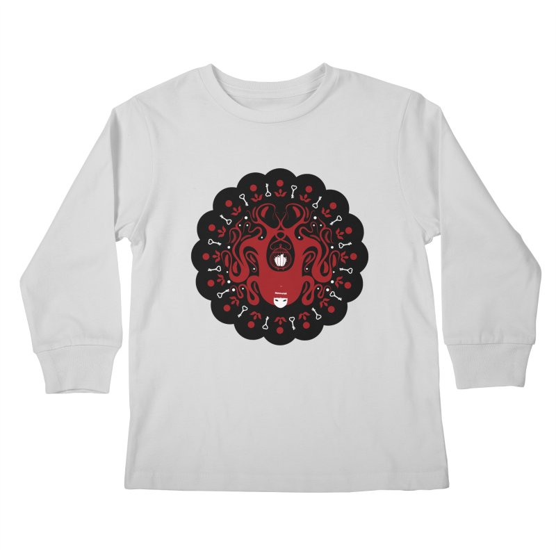Cages and Keys/Black Kids Longsleeve T-Shirt by littleappledolls's Artist Shop