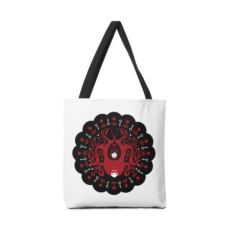 Cages and Keys/Black Accessories Tote Bag Bag by littleappledolls's Artist Shop