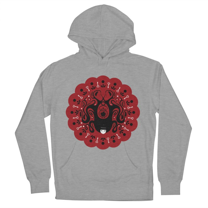 Cages and Keys/Red Women's Pullover Hoody by littleappledolls's Artist Shop