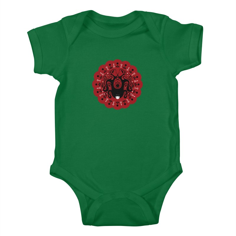 Cages and Keys/Red Kids Baby Bodysuit by littleappledolls's Artist Shop