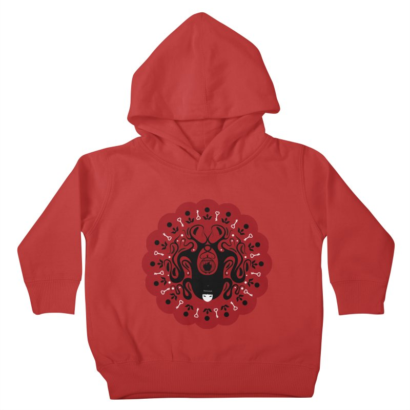 Cages and Keys/Red Kids Toddler Pullover Hoody by littleappledolls's Artist Shop