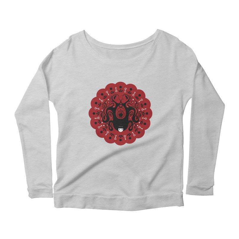 Cages and Keys/Red Women's Scoop Neck Longsleeve T-Shirt by littleappledolls's Artist Shop