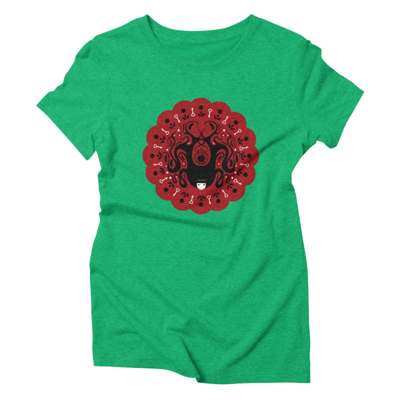 Cages and Keys/Red Women's Triblend T-Shirt by littleappledolls's Artist Shop