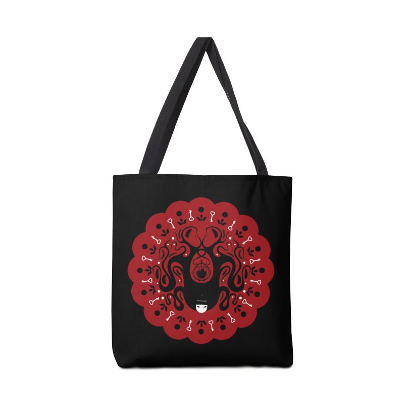 Cages and Keys/Red Accessories Tote Bag Bag by littleappledolls's Artist Shop