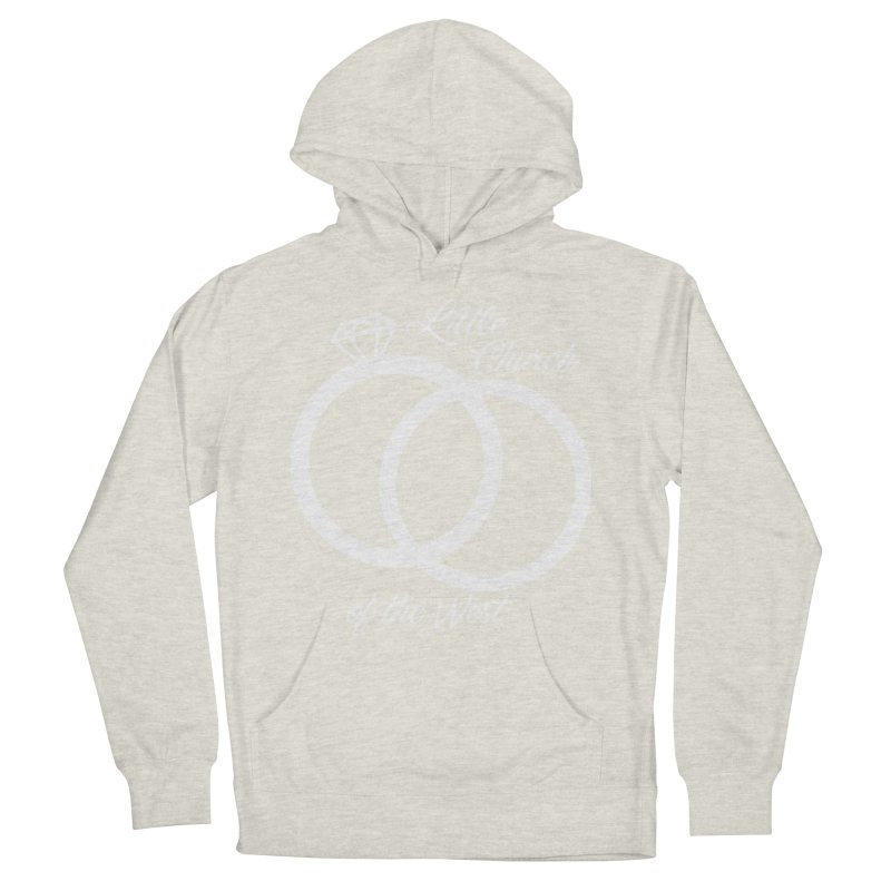 Wedding Rings Men's French Terry Pullover Hoody by Little Church of the West's Artist Shop