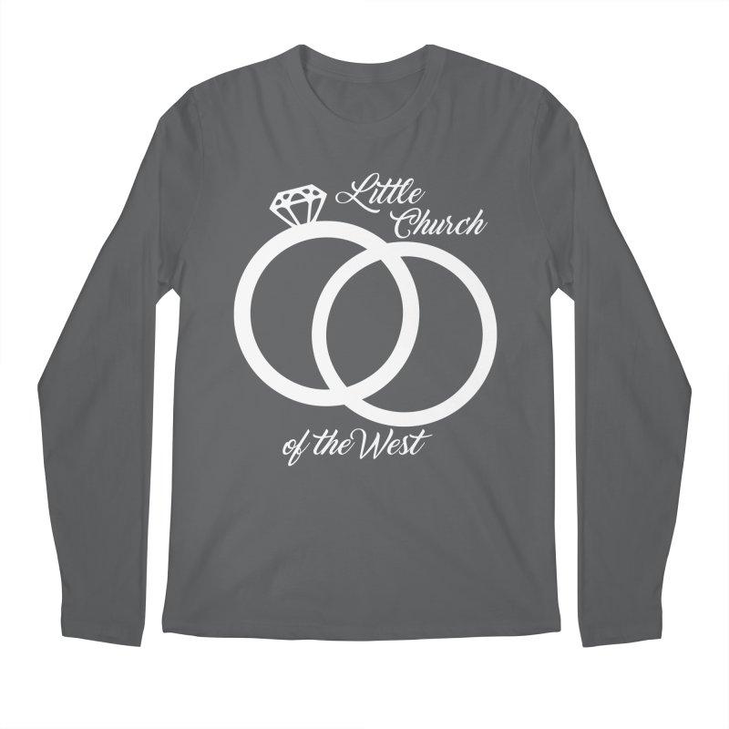 Wedding Rings Men's Longsleeve T-Shirt by Little Church of the West's Artist Shop