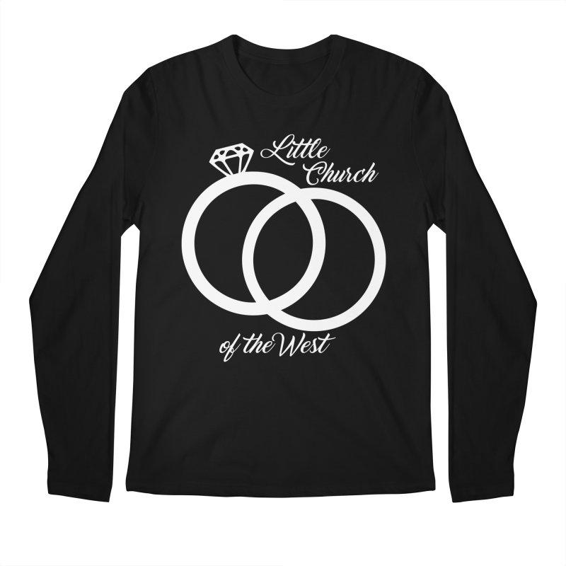 Wedding Rings Men's Regular Longsleeve T-Shirt by Little Church of the West's Artist Shop
