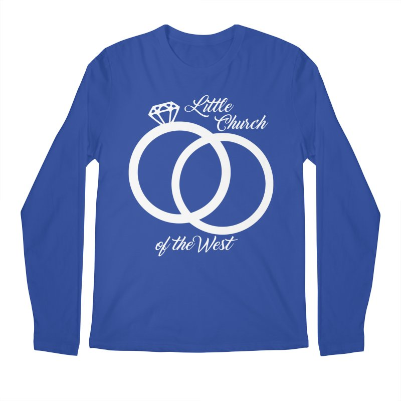 Wedding Rings Men's Longsleeve T-Shirt by Little Church of the West's Artist Shop