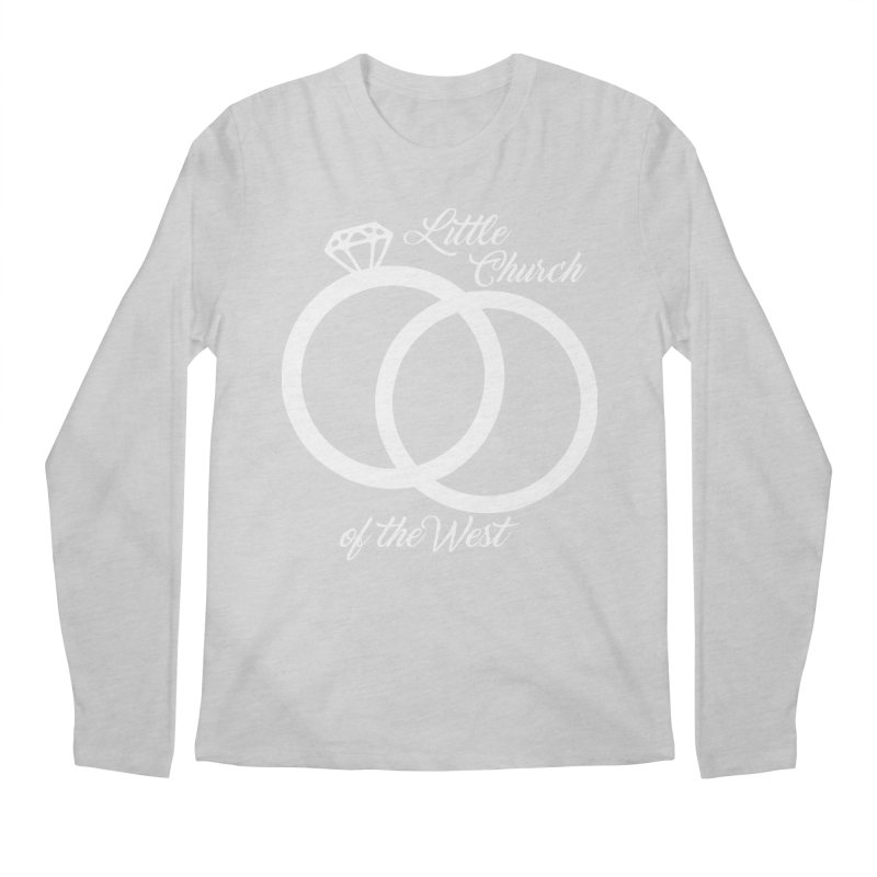 Wedding Rings Men's Regular Longsleeve T-Shirt by Little Church of the West's Artist Shop