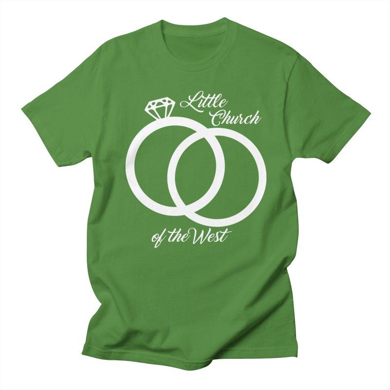 Wedding Rings Women's Regular Unisex T-Shirt by Little Church of the West's Artist Shop