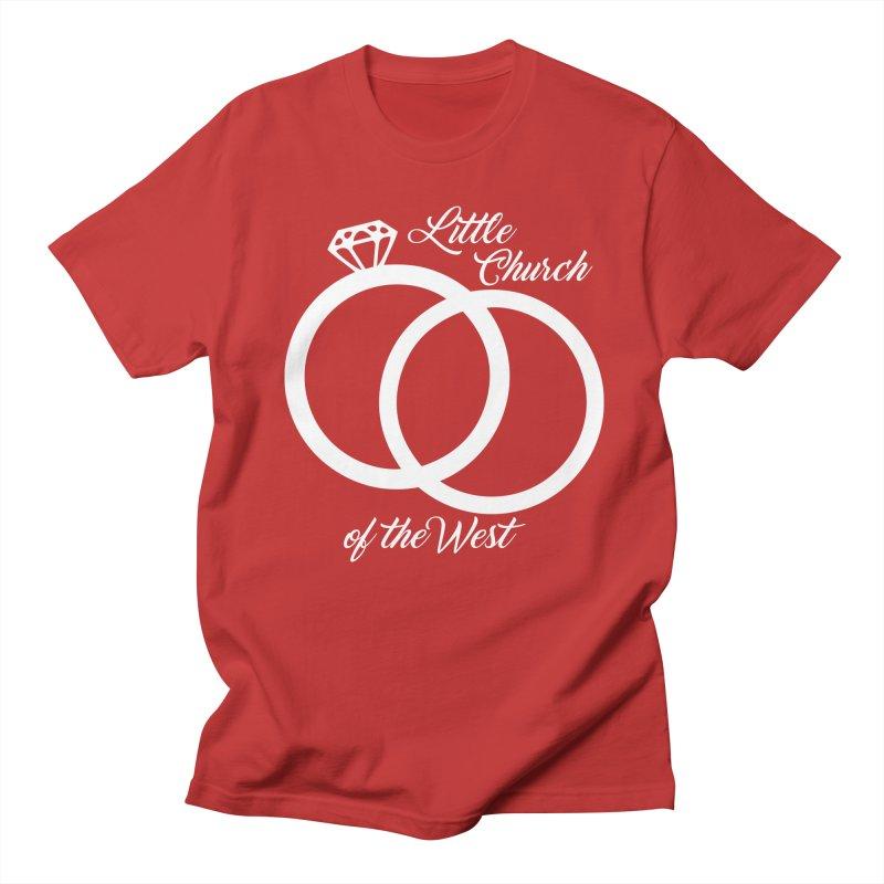 Wedding Rings Men's Regular T-Shirt by Little Church of the West's Artist Shop