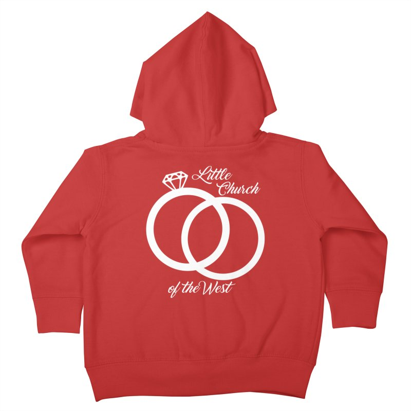 Wedding Rings Kids Toddler Zip-Up Hoody by Little Church of the West's Artist Shop