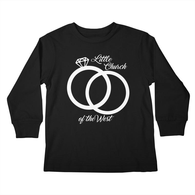 Wedding Rings Kids Longsleeve T-Shirt by Little Church of the West's Artist Shop