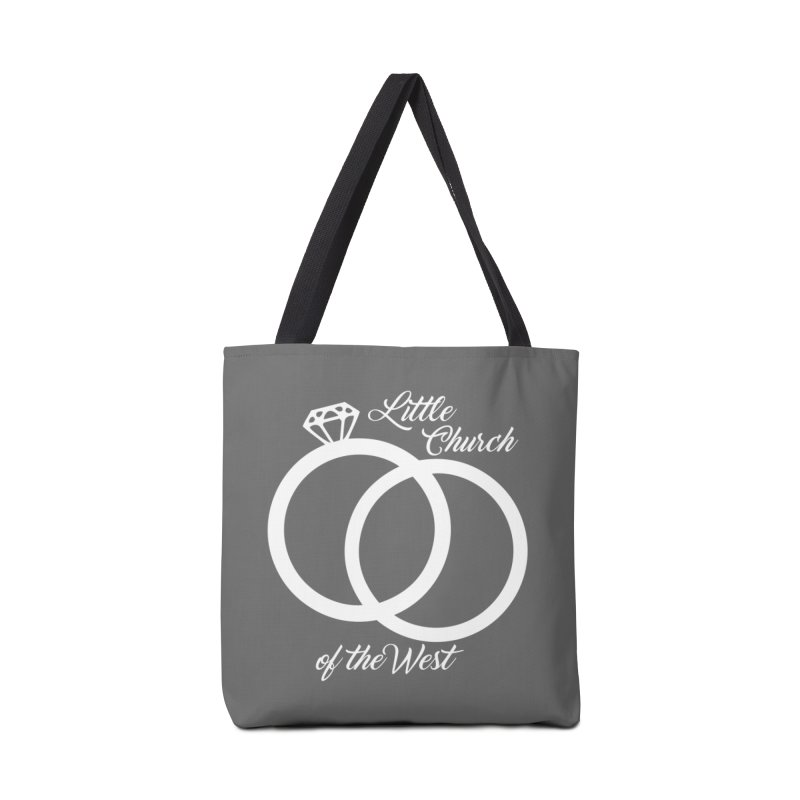 Wedding Rings Accessories Tote Bag Bag by Little Church of the West's Artist Shop