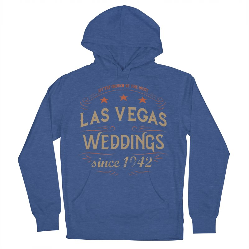 Retro 1942 Women's French Terry Pullover Hoody by Little Church of the West's Artist Shop