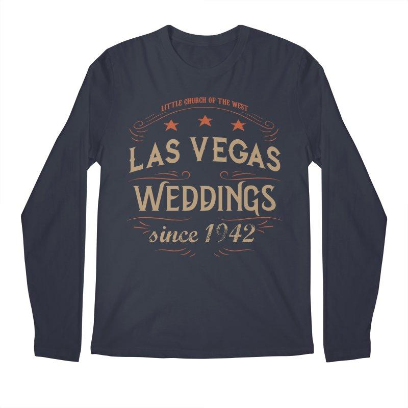 Retro 1942 Men's Regular Longsleeve T-Shirt by Little Church of the West's Artist Shop