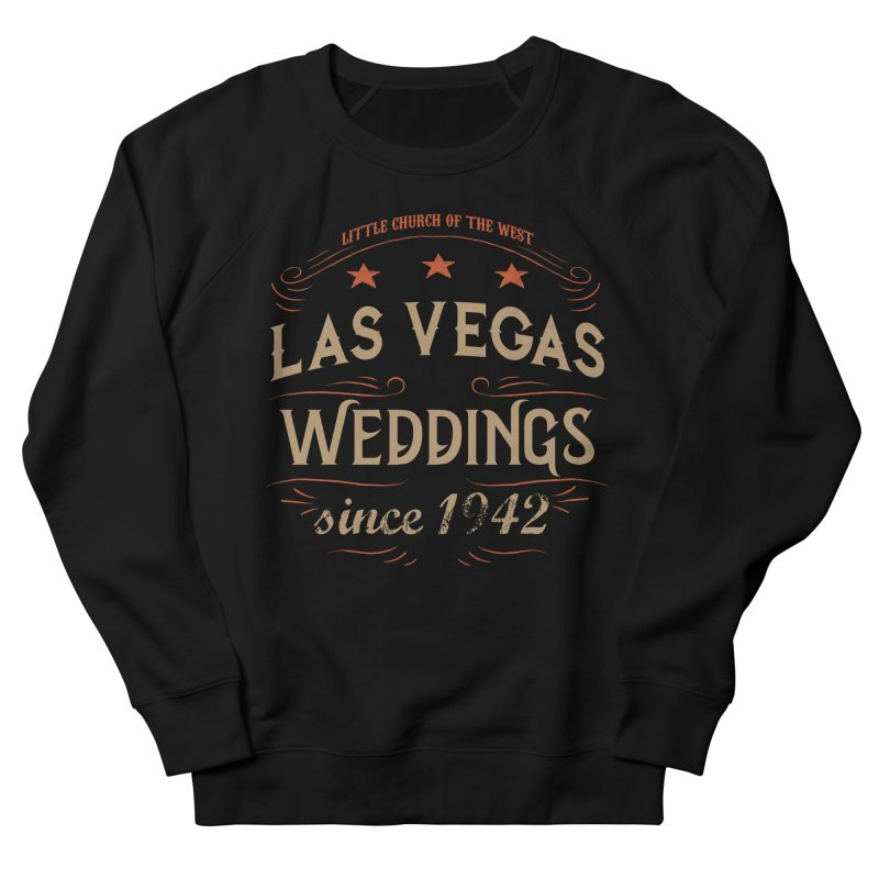 Retro 1942 Women's French Terry Sweatshirt by Little Church of the West's Artist Shop