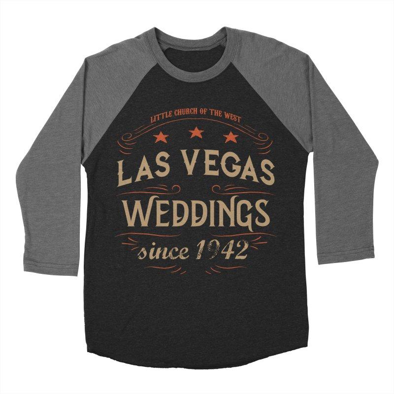 Retro 1942 Women's Baseball Triblend Longsleeve T-Shirt by Little Church of the West's Artist Shop