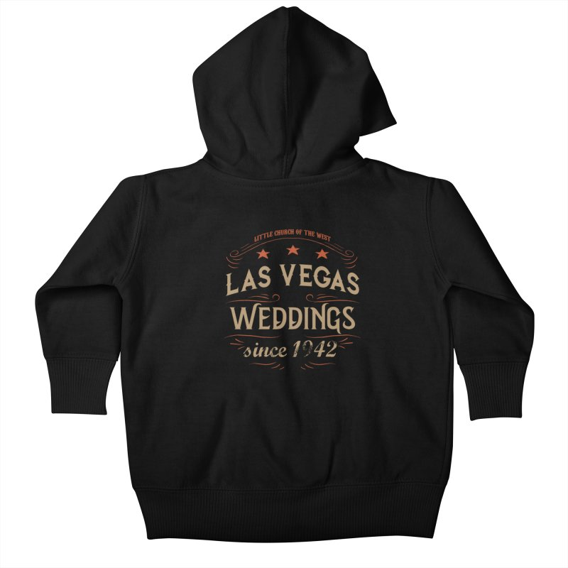 Retro 1942 Kids Baby Zip-Up Hoody by Little Church of the West's Artist Shop