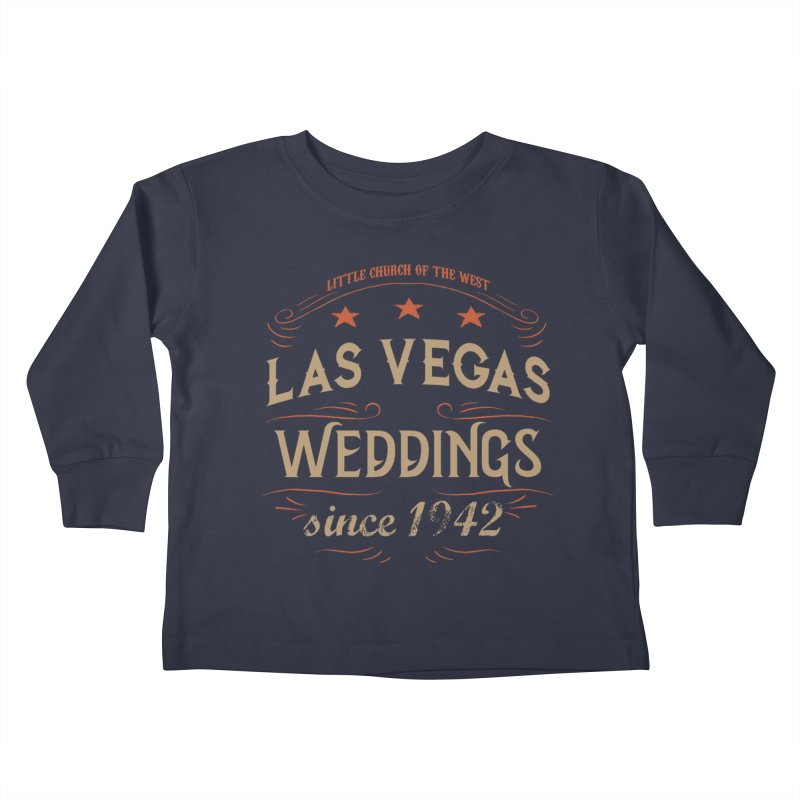 Retro 1942 Kids Toddler Longsleeve T-Shirt by Little Church of the West's Artist Shop