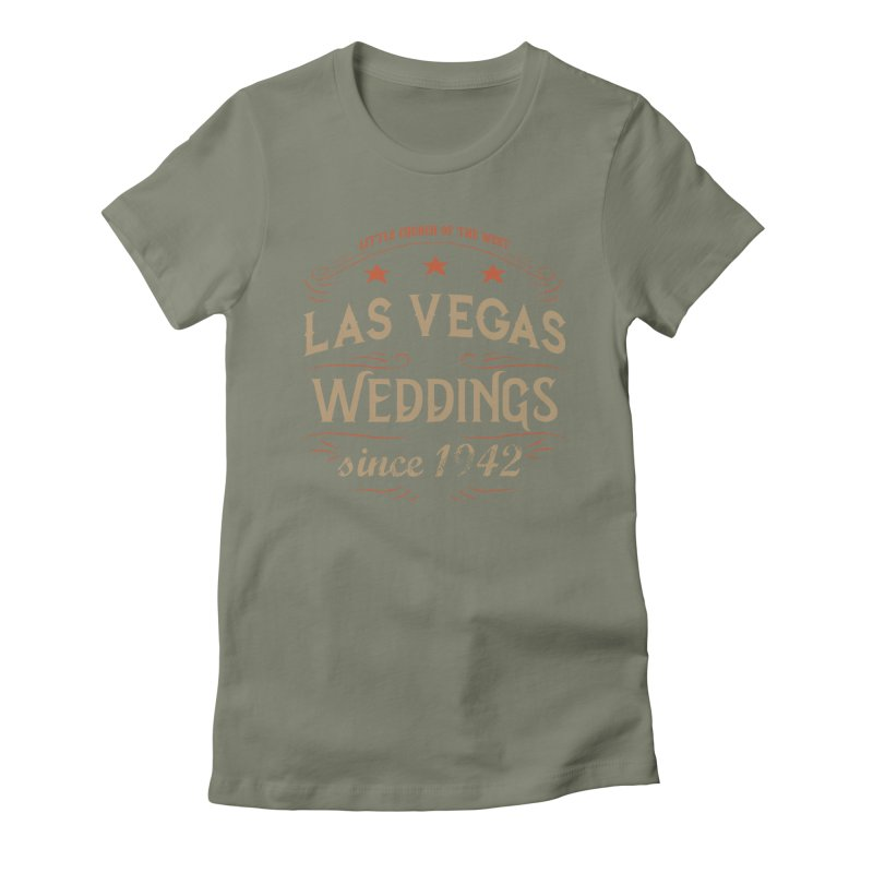 Retro 1942 Women's Fitted T-Shirt by Little Church of the West's Artist Shop