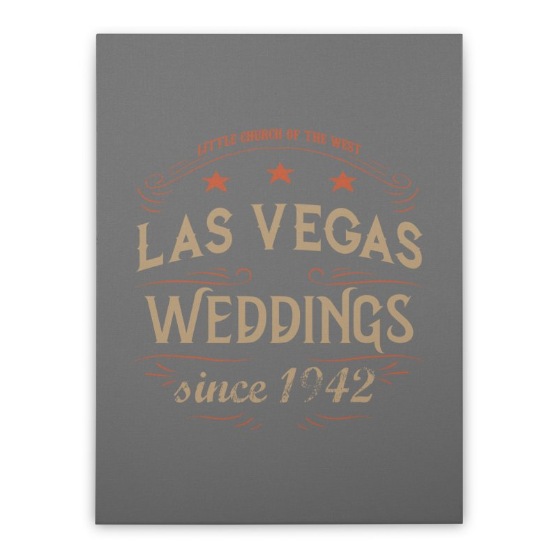 Retro 1942 Home Stretched Canvas by Little Church of the West's Artist Shop