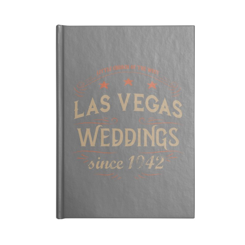 Retro 1942 Accessories Lined Journal Notebook by Little Church of the West's Artist Shop